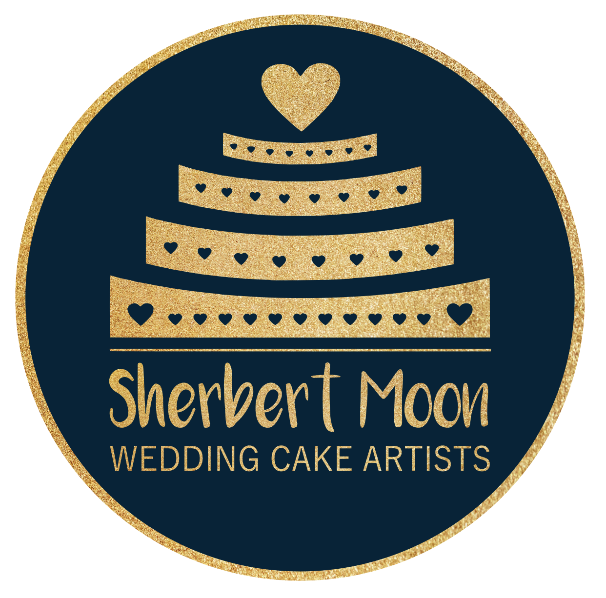 Sherbert Moon Wedding Cakes